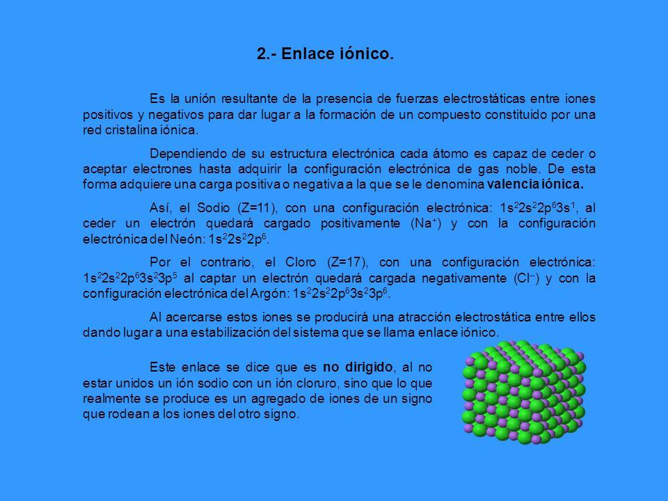 Características y tipos de redes cristalinas La atracción electrostática de los iones provoca que los compuestos iónicos adopten una estructura cristalina característica en la que los iones se colocan de una forma permanente en los nudos de la red compensándose las fuerzas repulsivas y atractivas.