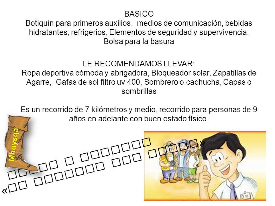 BASICO Botiquín para primeros auxilios, medios de comunicación, bebidas hidratantes, refrigerios, Elementos de seguridad y supervivencia. Bolsa para l