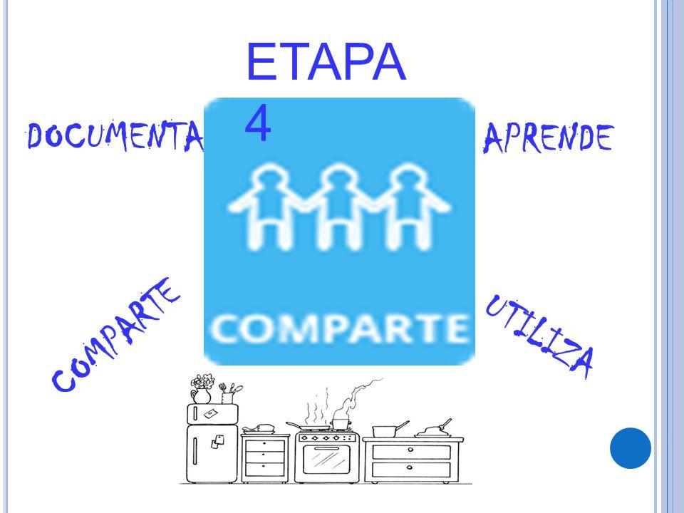 ETAPA 4 DOCUMENTA COMPARTE APRENDE UTILIZA
