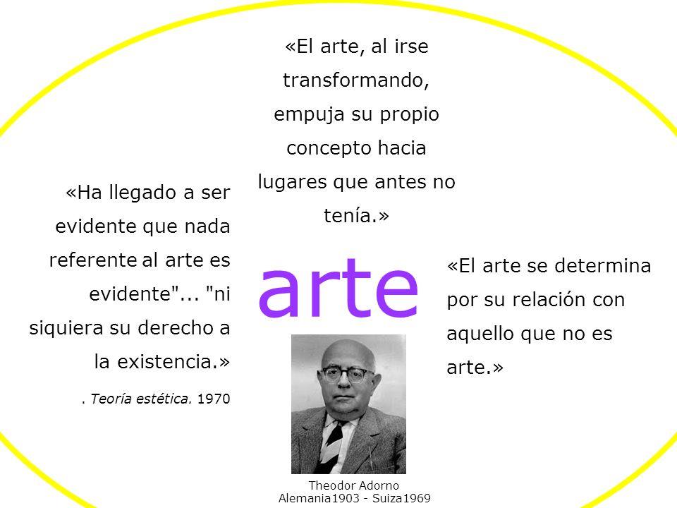 GENERACIÓN ALIENADA (desde mediados de los 50) unión arte- vida Abstracción Post-pictórica desobjetualización del arte (anti-mercado) mercado Antiform
