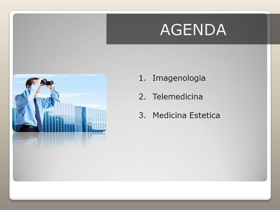AGENDA 1.Imagenologia 2.Telemedicina 3.Medicina Estetica