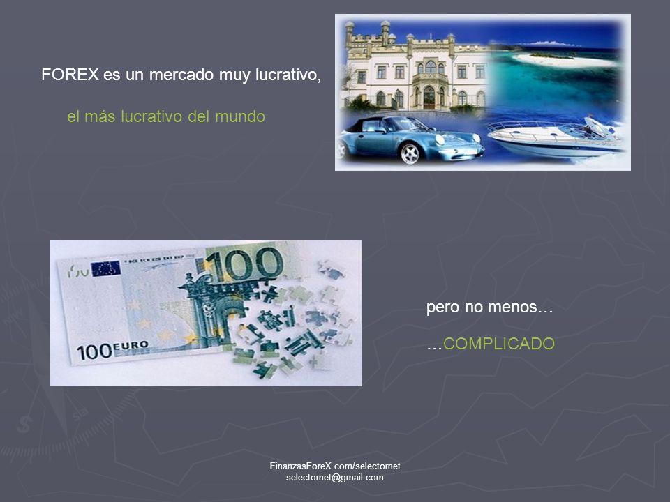 FinanzasForeX.com/selectornet selectornet@gmail.com No solo los Americanos compran Euros, el Euro es una moneda que se compra y vende en Europa, Asia, América… Por eso es muy complicado de operar, hay … muchos intereses involucrados en una moneda.