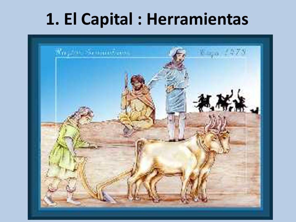 1. El Capital : Herramientas