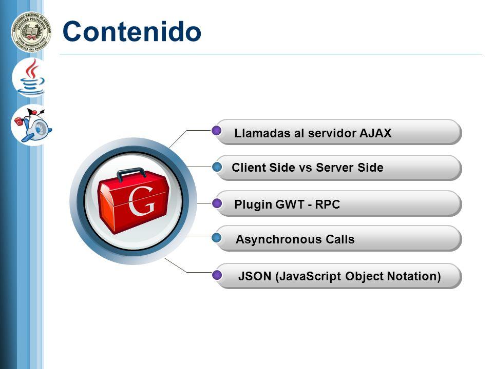 Ejemplo New GWT Java Project: TestRPC New GWT Module: TestRPCmodule Package Name: com.cursojava.testrpc
