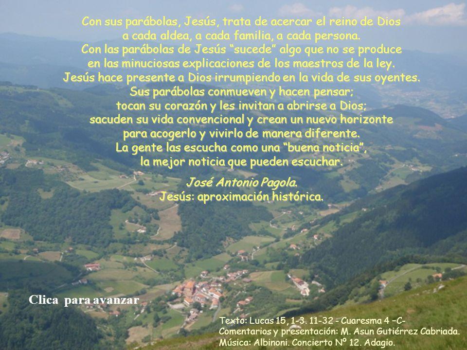 Otra edición y publicación gratuita de www.vitanoblepowerpoints.net Con sus parábolas, Jesús, trata de acercar el reino de Dios a cada aldea, a cada familia, a cada persona.