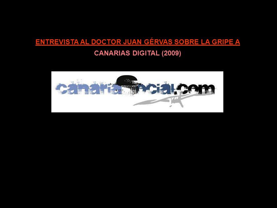 ENTREVISTA AL DOCTOR JUAN GÉRVAS SOBRE LA GRIPE A RÀDIO KLARA (08/09/2009)