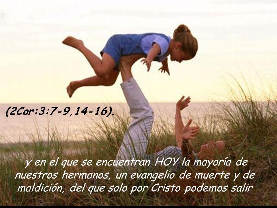 esta exhortación toma vigencia hoy al creyente, al hijo de Dios, al escogido desde antes de la fundación del mundo, al Santo, al perfecto, al bendecid