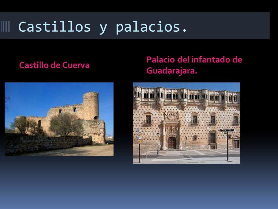 Castillos y palacios. Castillo de Cuerva Palacio del infantado de Guadarajara.