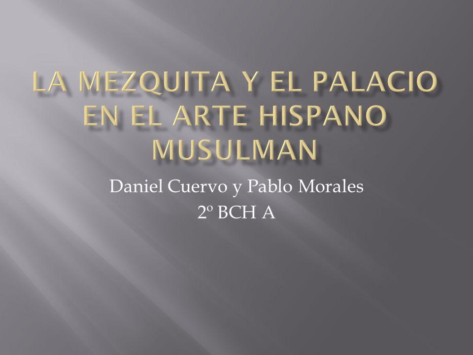 Daniel Cuervo y Pablo Morales 2º BCH A