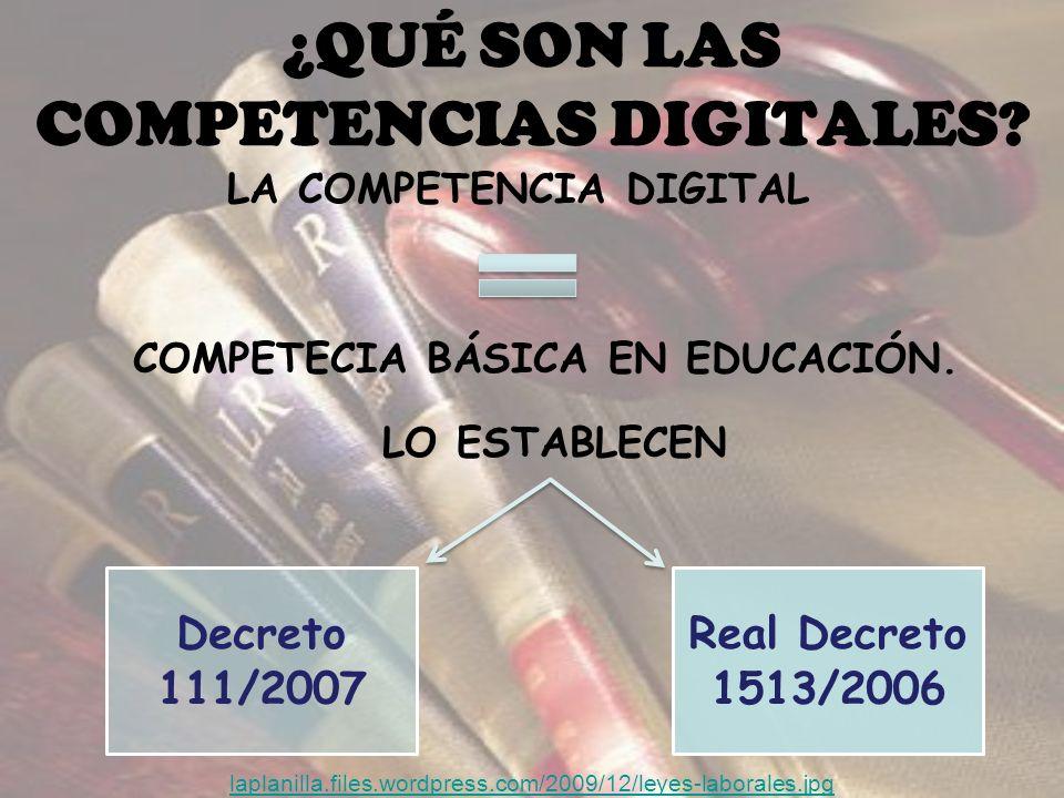 ¿QUÉ SON LAS COMPETENCIAS DIGITALES.LA COMPETENCIA DIGITAL COMPETECIA BÁSICA EN EDUCACIÓN.