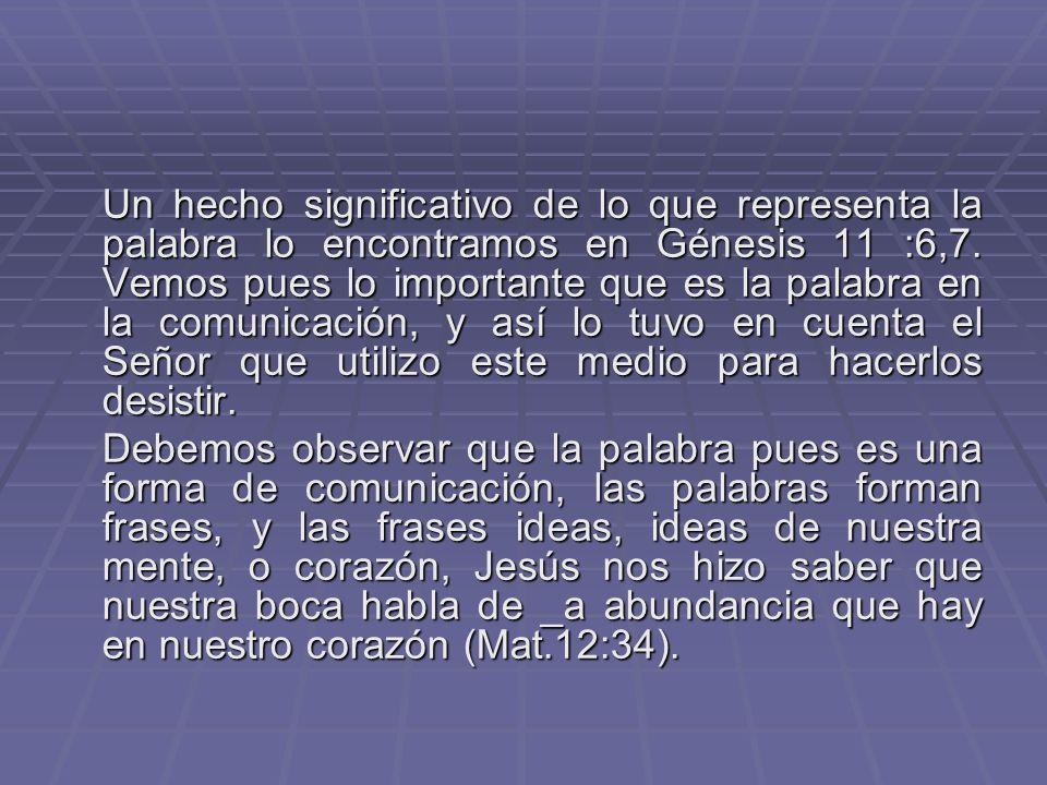 Santiago nos presenta la palabra como un poder (Stg.