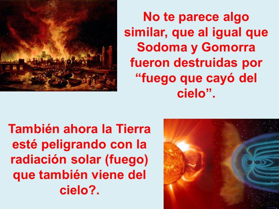 Recuerda lo que pasó con Sodoma, Gomorra y otras ciudades que fueron destruidas por la degeneración sexual que practicaban.
