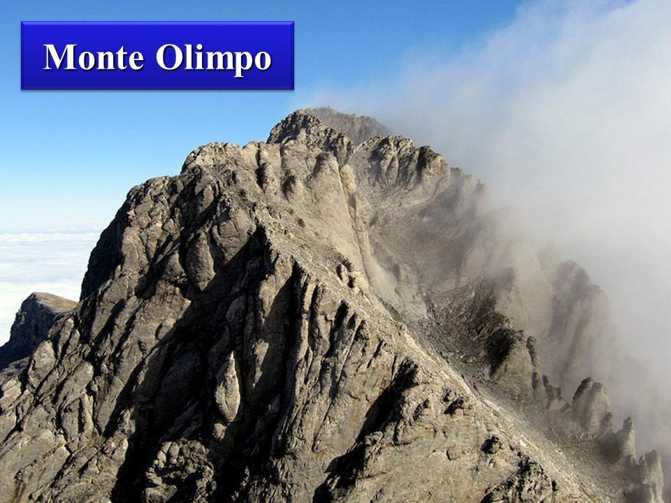Monte Olimpo Monte Olimpo La montaña más alta de Grecia.