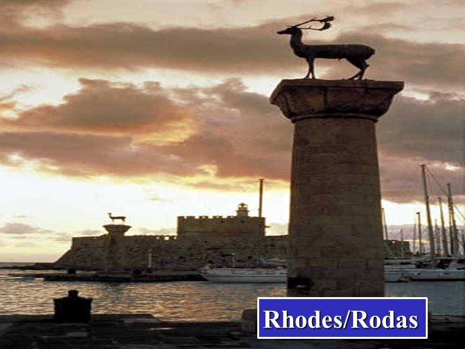El Dodecaneso (topónimo griego, Δωδεκάνησα, Dodekànisa, que significa Doce Islas), lo forman un total de 163 islas, de las cuales 26 están habitadas.