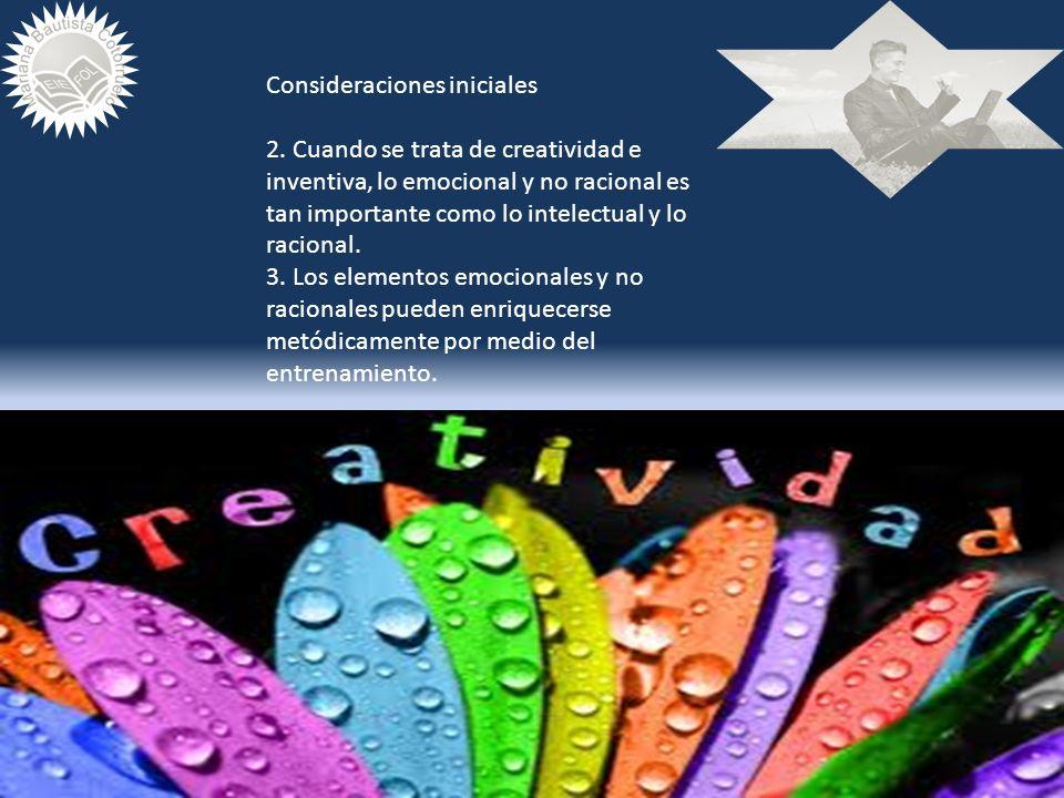TTOTODOS SOMOS CREATIVOS http://www.youtube.com/watch?v=Zv7573sEO kU EDUARDO PUNSET, LAS CLAVES DE LA CREATIVIDAD http://www.youtube.com/watch?v=QB85C