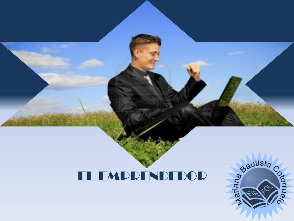 PERFIL DEL EMPRENDEDOR CUALIDADES PERSONALES: ACTITUDES 1- CREATIVIDAD 2- ASUMIR RIESGOS 3- ESTABLECER OBJETIVOS 4- INICIATIVA 5- CAPACIDAD DE TRABAJO,ORGANIZACIÓN Y PERSISTENCIA 6- INTERACCIÓN SOCIAL 7- LIDERAZGO 8- AUTOCONFIANZA 9- AUTOCRÍTICA 10- HONRADEZ 11- POSITIVO MOTIVACIÓN PERSONAL POR SUS CARACTERÍSTICAS RECONOCIMIENTO AUTORREALIZACIÓN TRADICÍÓN MATERIALES MÁS RENTA OPORTUNIDAD DE NEGOCIO POR LAS CIRCUNSTANCIAS