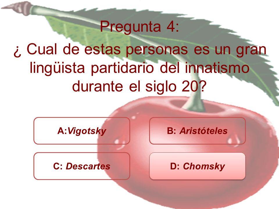 Pregunta 4:.