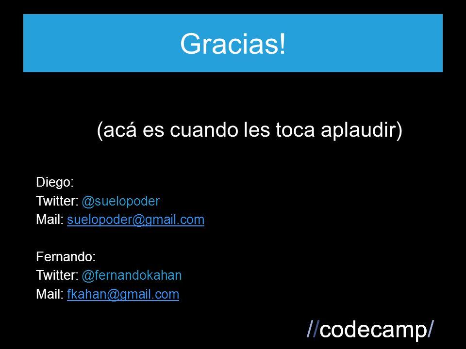 //codecamp/ Gracias.