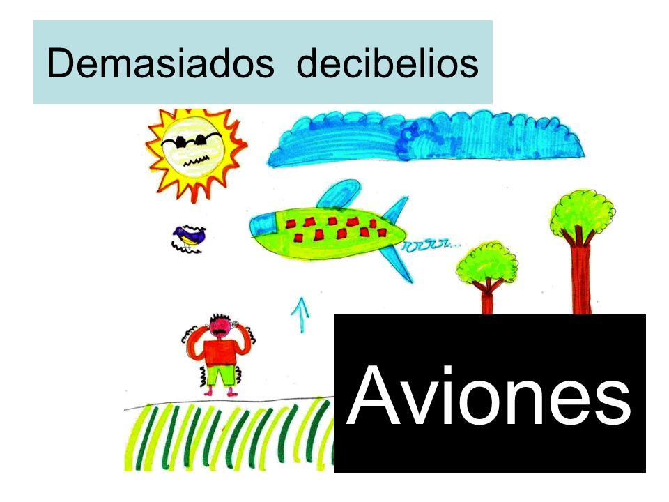 Demasiados decibelios Aviones