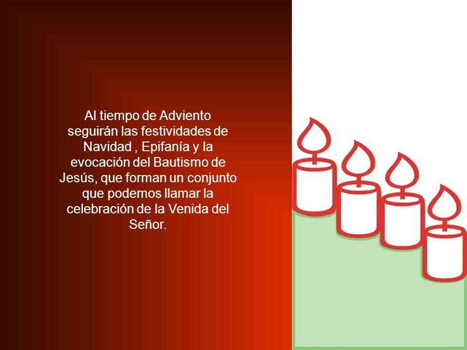 Recordemos que Adviento no es sólo la preparación de Navidad.