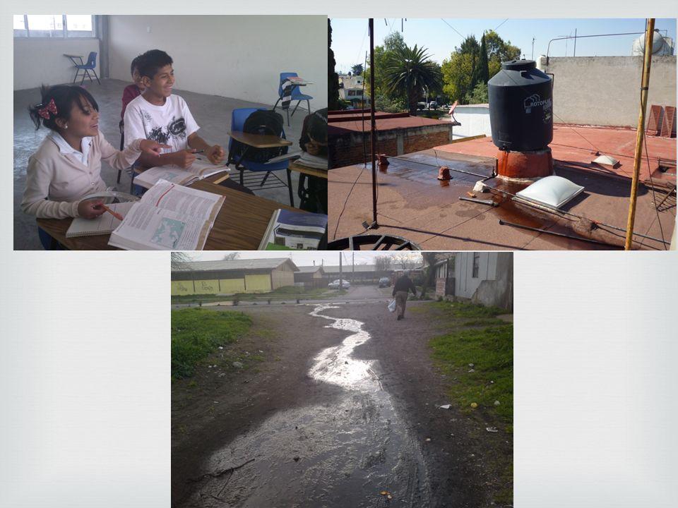 SOLUCIONES Una de las posibles soluciones fue que el agua se recortaría a la comunidad en horarios restringidos.