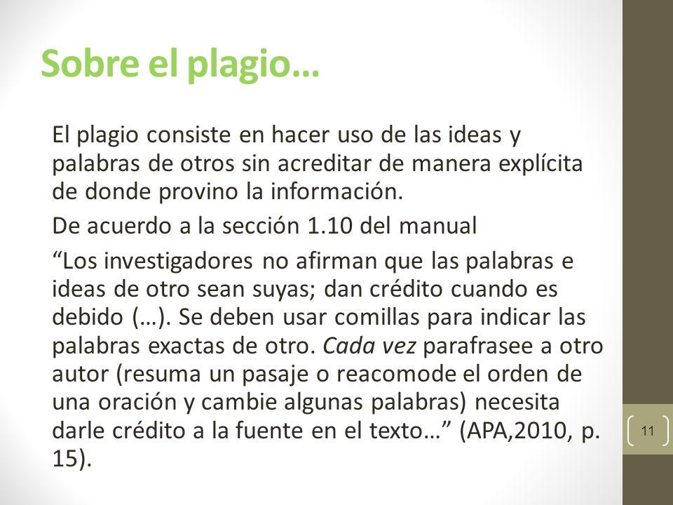 Sobre el plagio… algunos ejemplos Puede parecer un fenómeno raro, pero los ejemplos se suceden con más frecuencia de la que imaginamos: 12