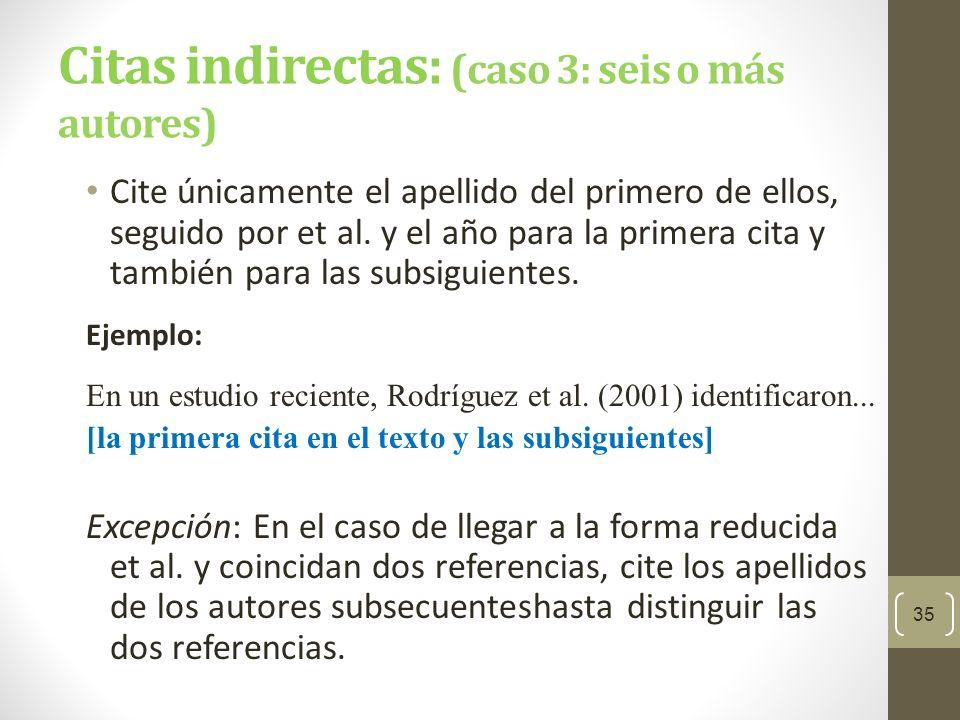 Citas de documentos con autores institucionales Los nombres de autores institucionales e.g.