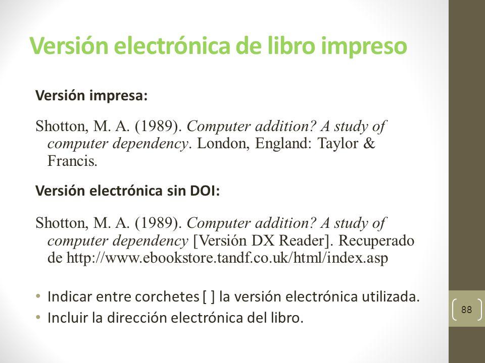Versión electrónica de libro impreso Versión impresa: Schiraldi, G.