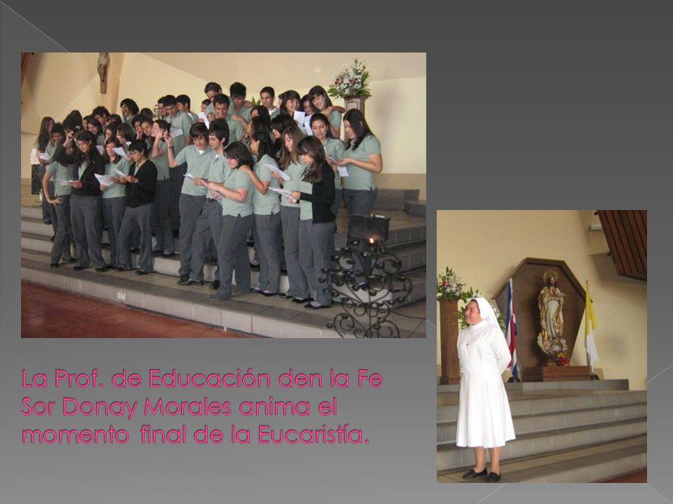 Preside la Eucaristía Fray Jorge Dobles, F.M.C