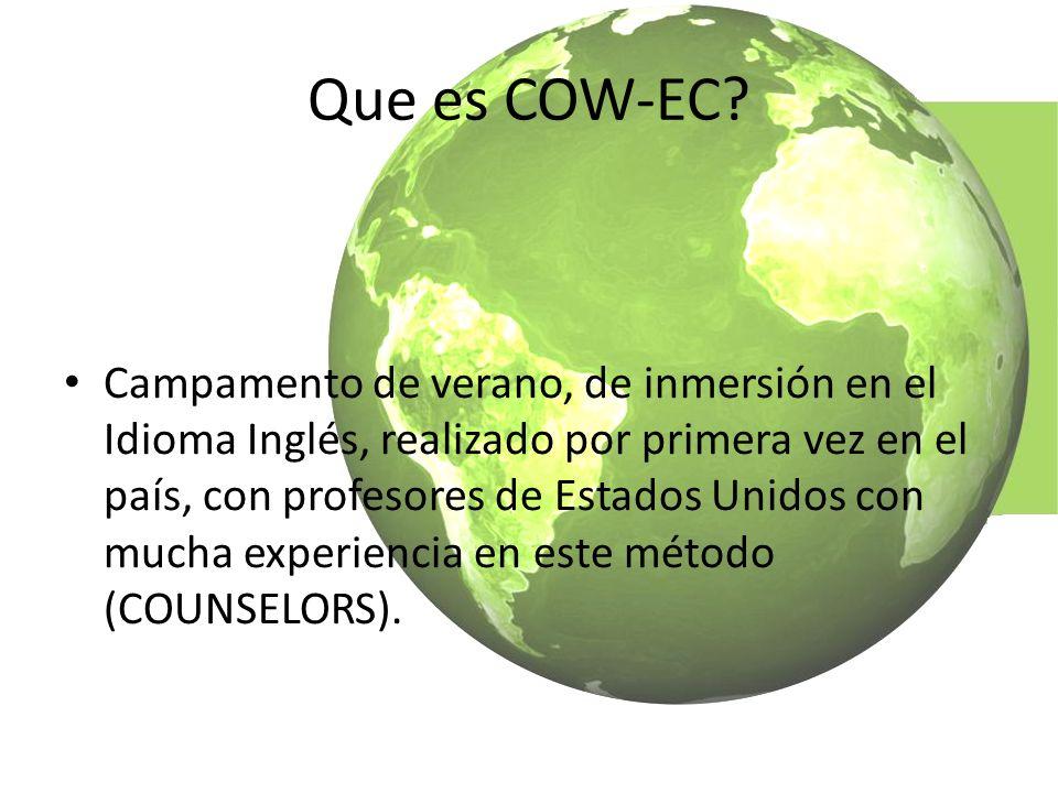 Que es COW-EC.