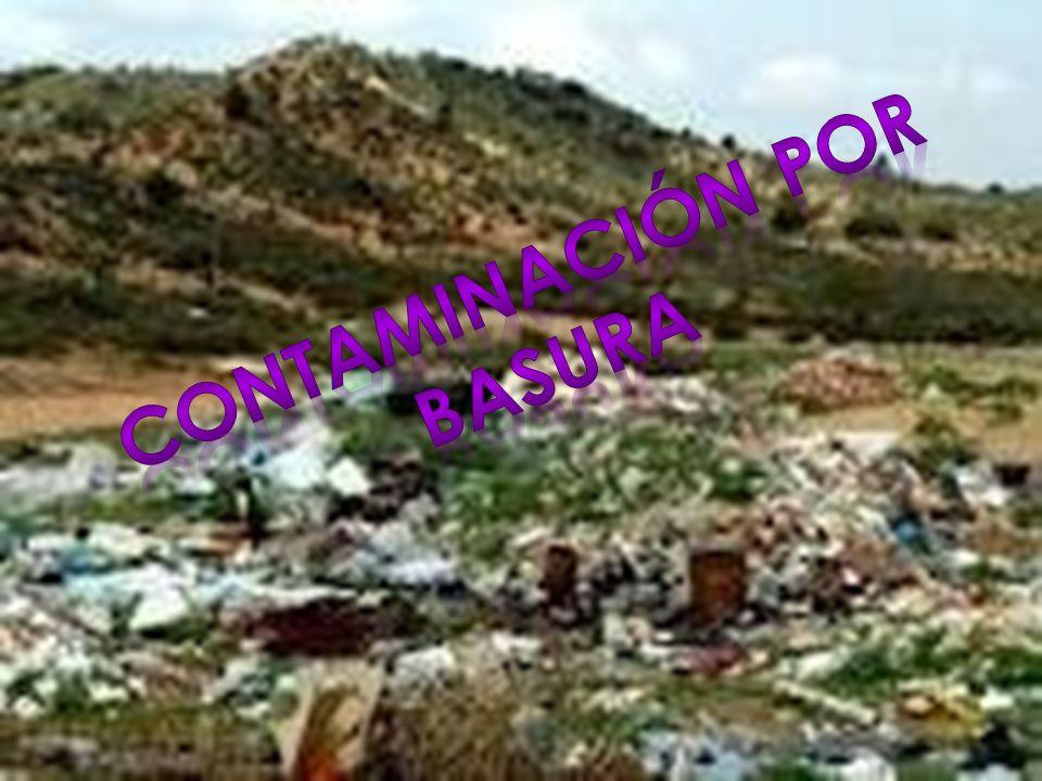 La contaminación es la alteración nociva del estado natural de un medio como consecuencia de la introducción de un agente totalmente ajeno a ese medio