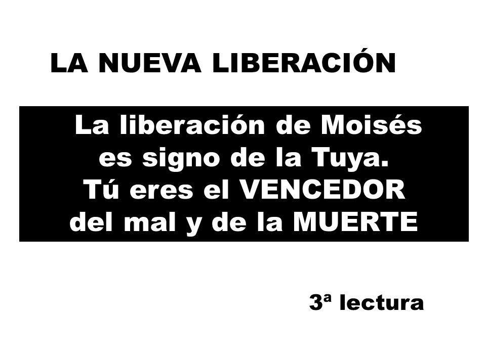 La liberación de Moisés es signo de la Tuya.