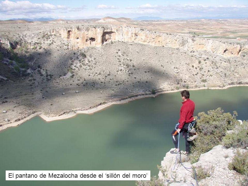 El pantano de Mezalocha desde el sillón del moro