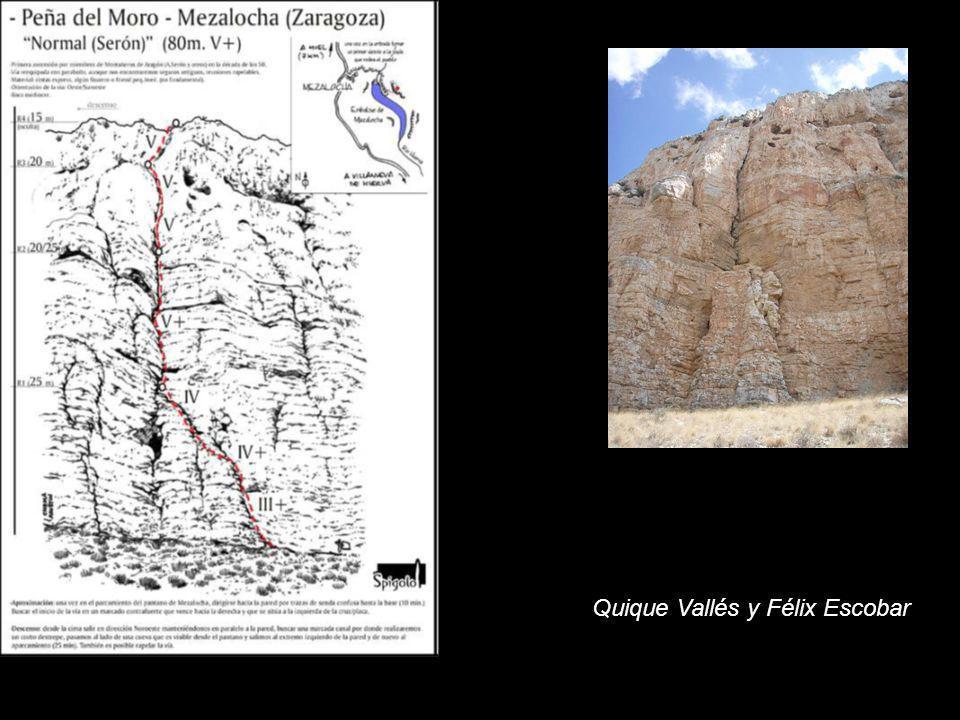 Quique Vallés y Félix Escobar