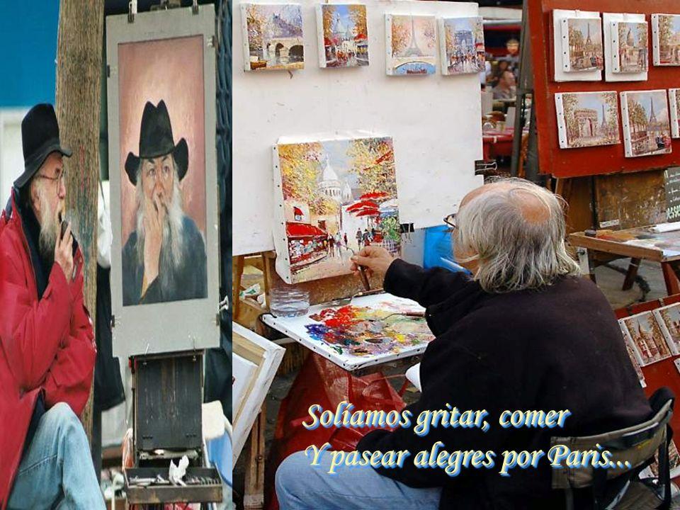 Y cuando algún pintor Hallaba un comprador Y un lienzo le vendía... Y cuando algún pintor Hallaba un comprador Y un lienzo le vendía...