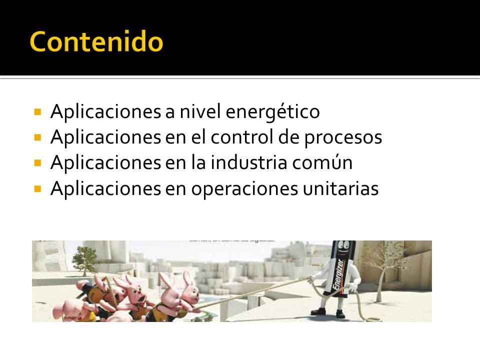 Una de las grandes aplicaciones es la implementación de mecanismos generadores de electricidad por hidroeléctricas mediante el funcionamiento de los generadores de corriente y su relación estrecha entre la electricidad y magnetismo