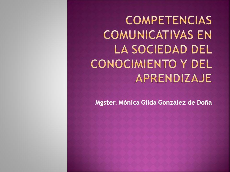 Mgster. Mónica Gilda González de Doña