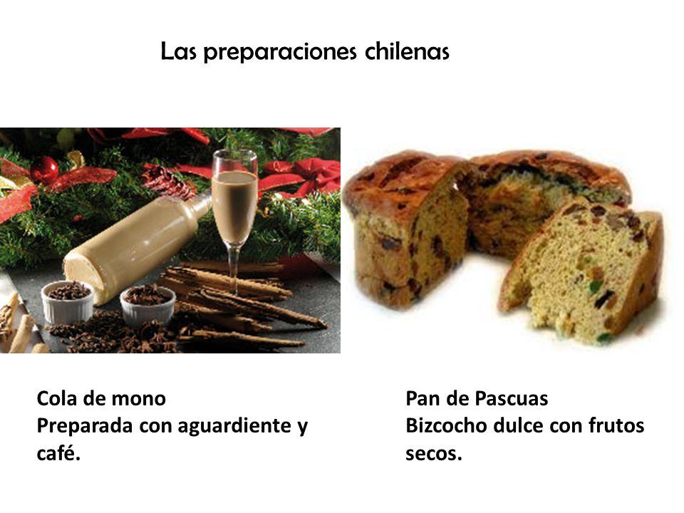 Tradiciones Primero es la cena en familia, la noche del 24 de Diciembre, en Chile se come pollo o pavo con distintas ensaladas, es una oportunidad para reunir a la familia.