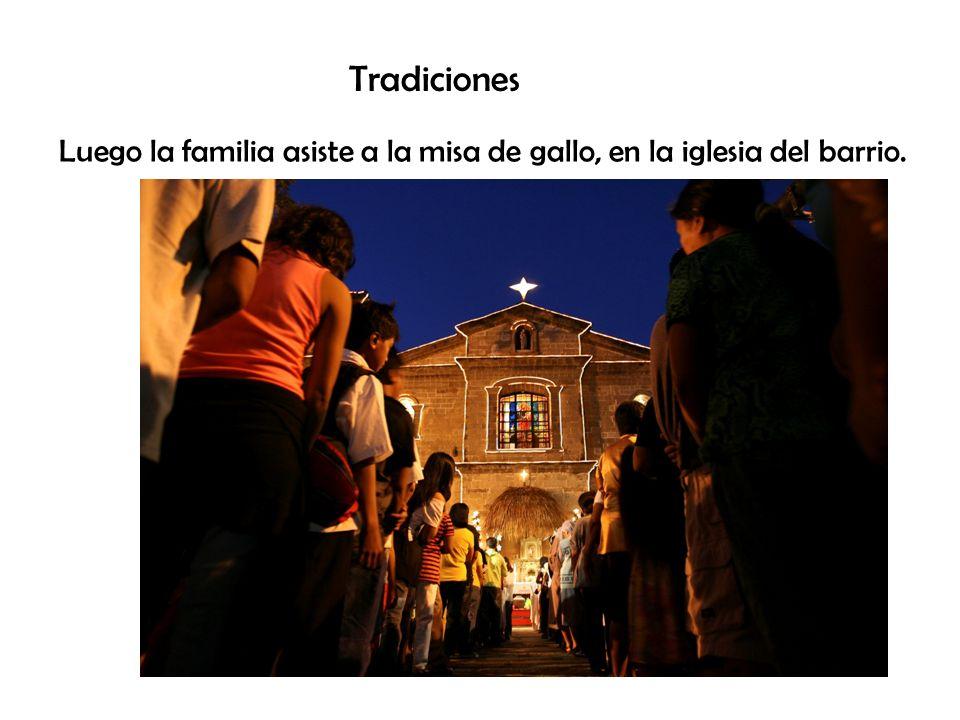 Tradiciones Para esperar a que sean las 12:00 de la noche los chicos salen a la calle a buscar al Viejo Pascuero.