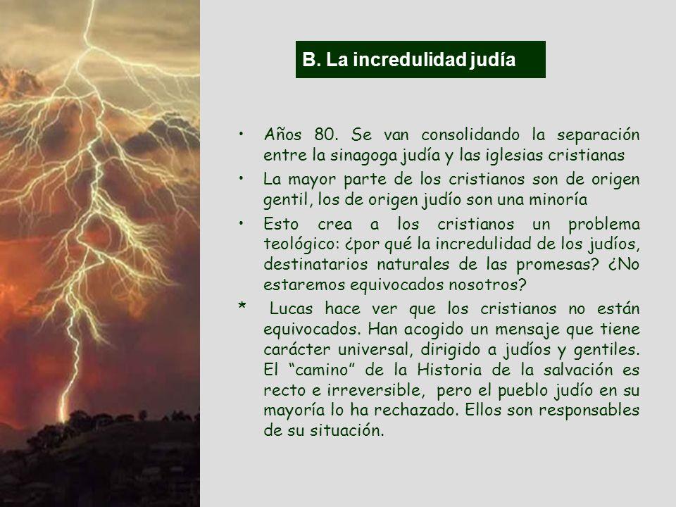 (2) Problemas externos. A. La salvación En el ambiente domina una concepción pagana de la salvación, que influye negativamente en la comunidad, debili