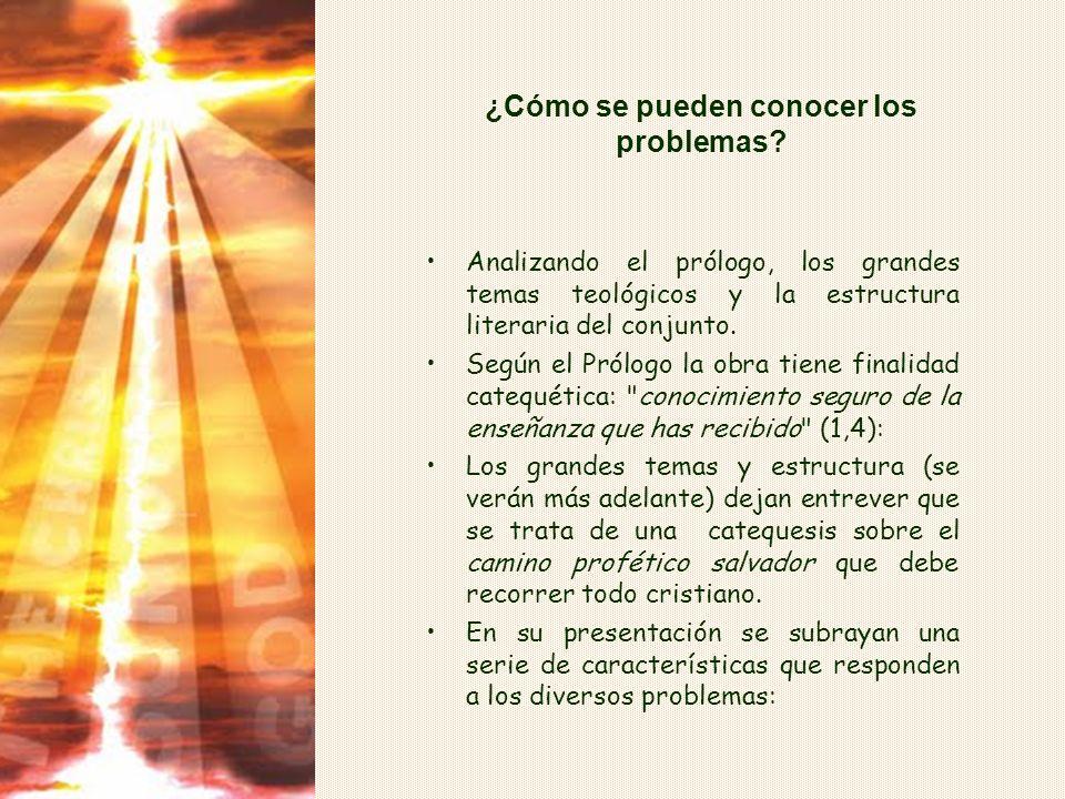¿Qué problemas? Su conocimiento ayudará a conocer la doble obra, que tiene carácter de respuesta a estos problemas. Ayudará también a ver la actualida