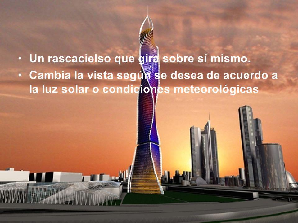 El arquitecto David Fischer concibió un método llamado « El método Fischer » para construir sus torres.