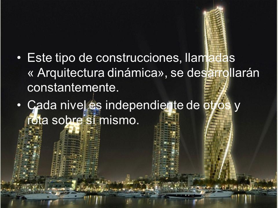 Es un increíble proyecto del arquitecto David Fischer. Sus torres giratorias se harán realidad en Dubai y Moscú en 2010.