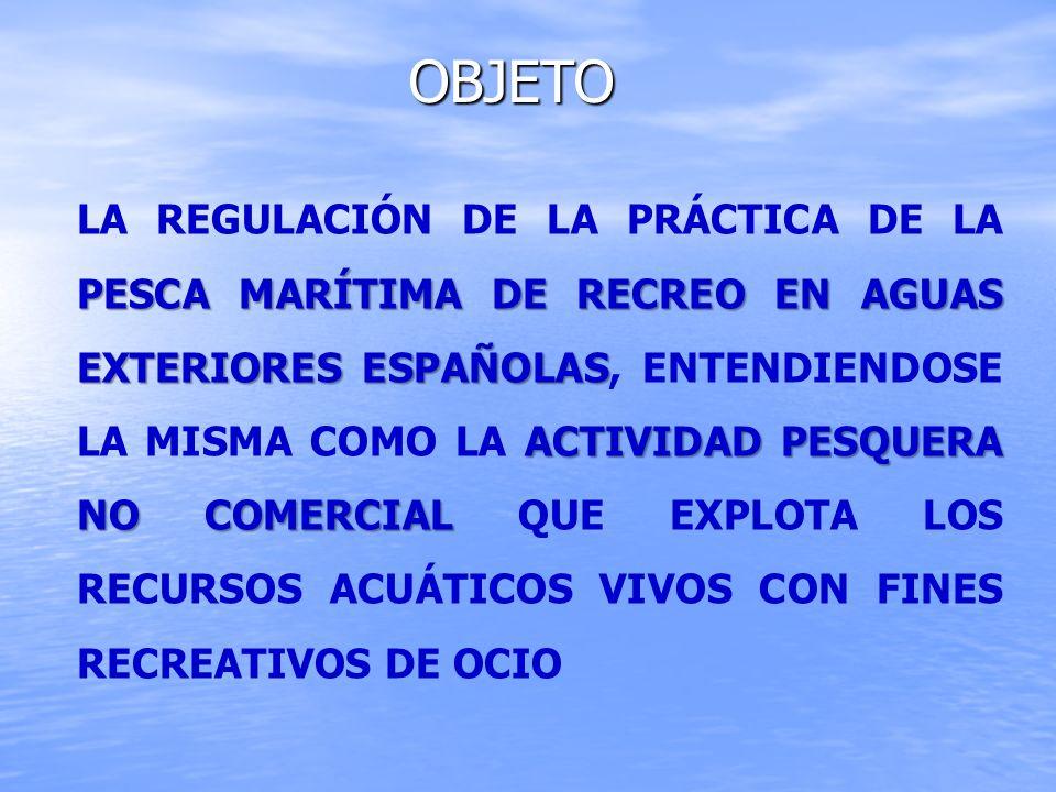 ZONAS DE PESCA MARÍTIMA DE RECREO Cantábrico y Noroeste Golfo de Cádiz Mediterránea Canarias