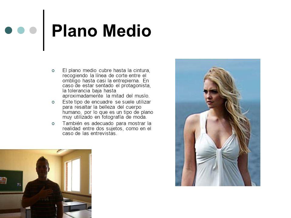 Plano Medio Corto El plano medio corto, también conocido como plano de busto o primer plano mayor, recoge el cuerpo desde la cabeza hasta la mitad del pecho.