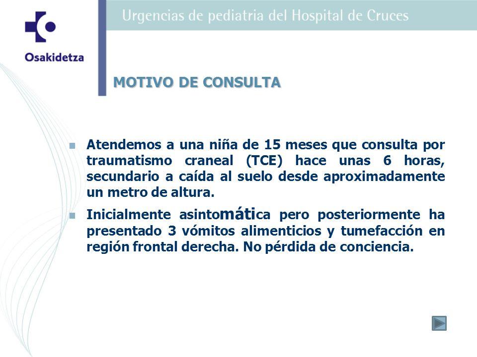 2.2.Por la clínica podría tratarse de un una cerebelitis aguda postinfecciosa.