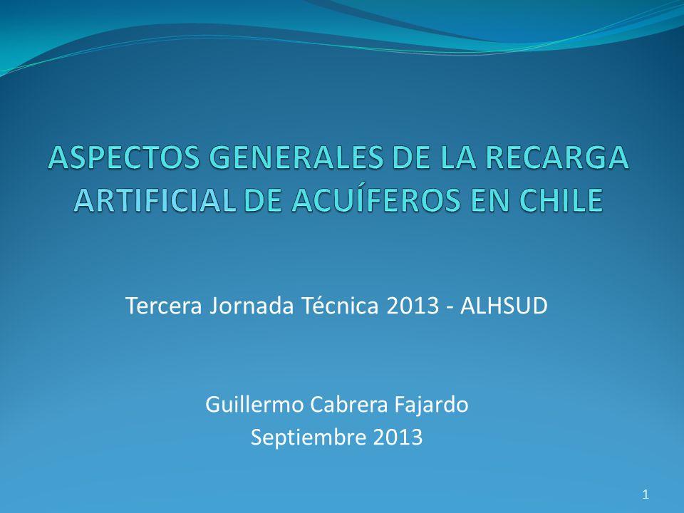 Tercera Jornada Técnica 2013 - ALHSUD Guillermo Cabrera Fajardo Septiembre 2013 1