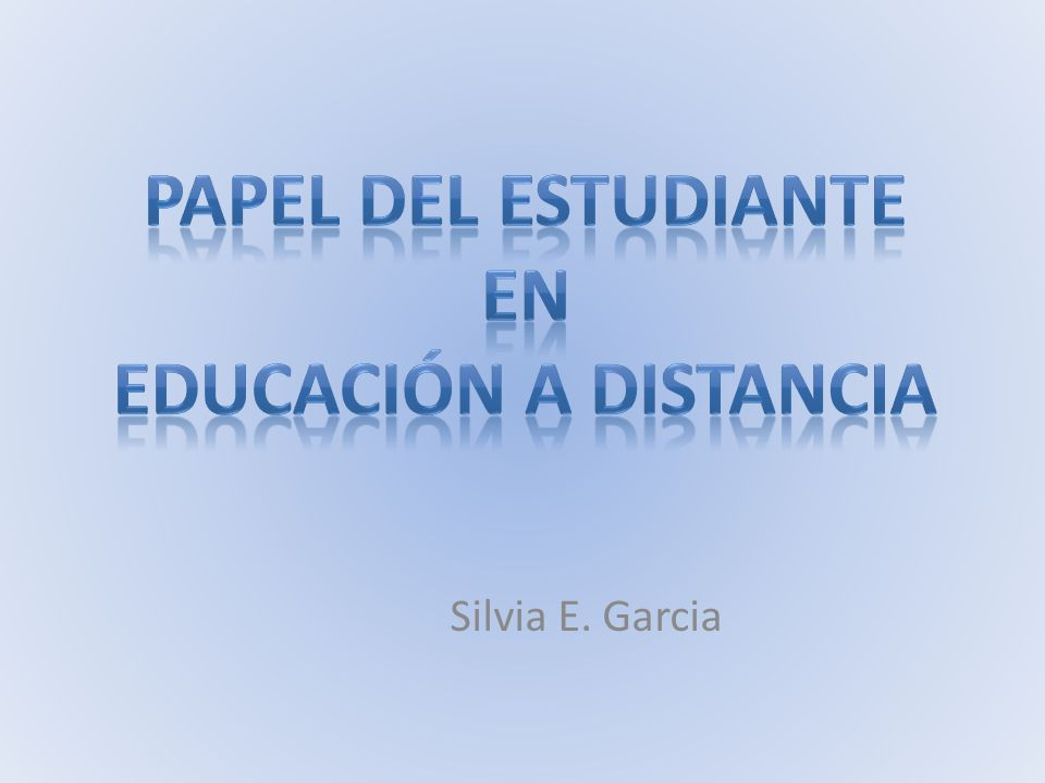 Silvia E. Garcia