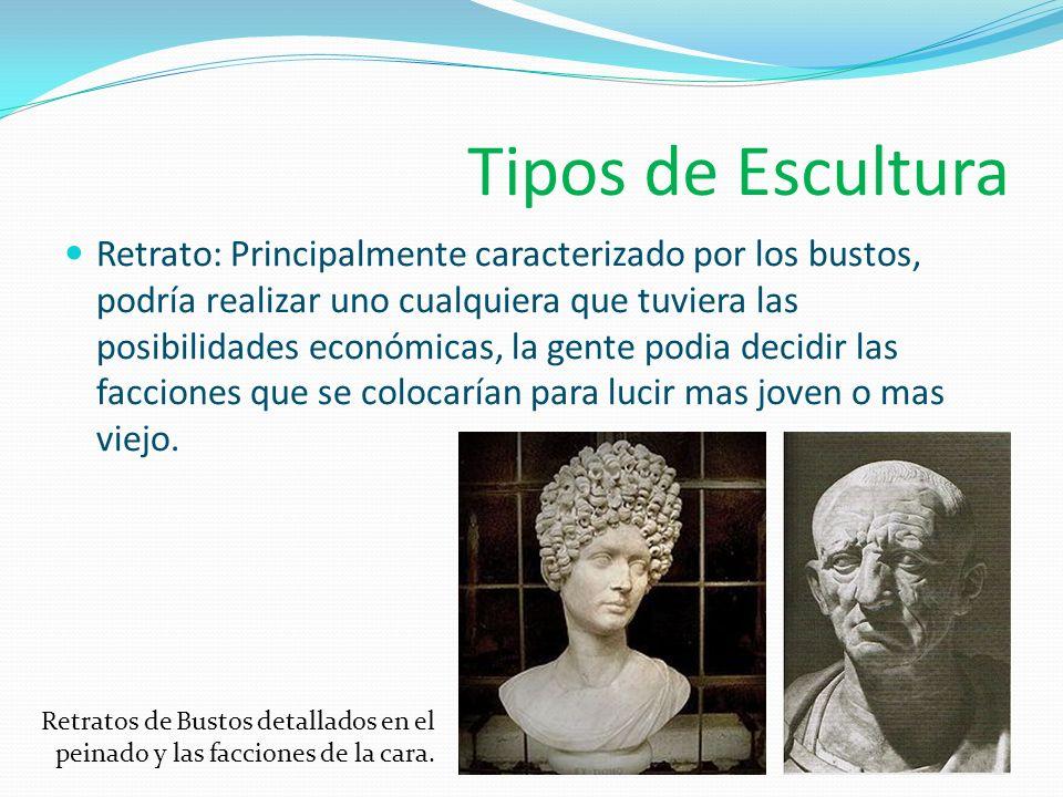 Tipos de Escultura Estatuas.