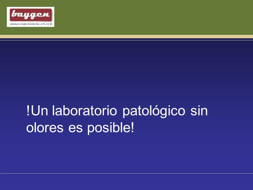 !Un laboratorio patológico sin olores es posible!
